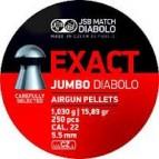 Diabolo JSB Exact Jumbo 250 ks