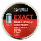 Diabolky JSB Exact Beast pre výkonné vzduchovky