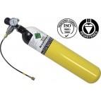Fľaša na stlačený vzduch 3 l na plnenie PCP vzduchoviek