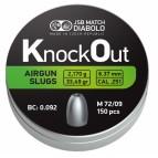 Diabolo Slug JSB Knockout cal. 251