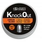 Diabolo Slug JSB Knockout MK II kal. 5,5 mm