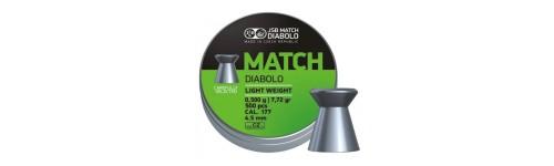 Diabolky serie Match ISSF